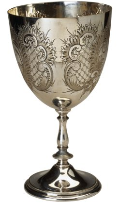 Silver Electroplating of Chalice